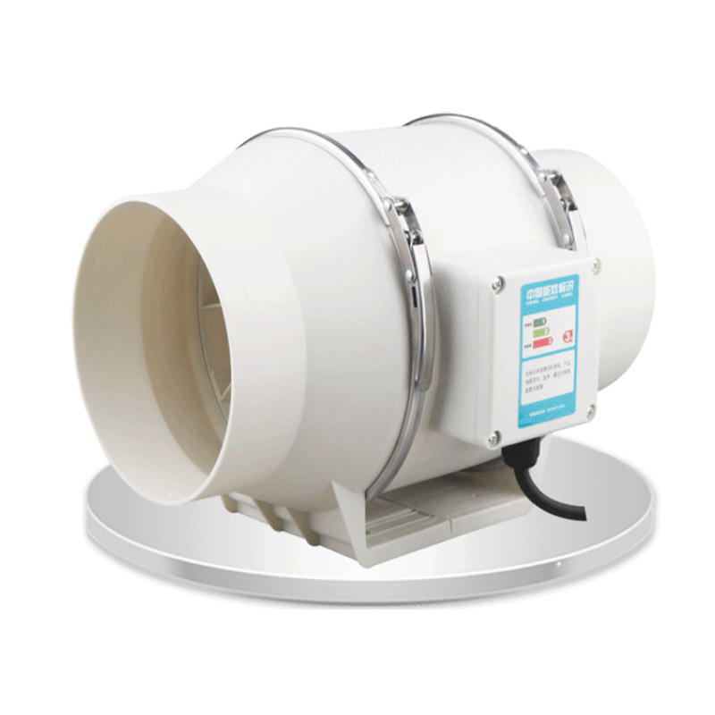 Inline Duct Booster Fan for Hydroponics and Greenhouse Ventilation