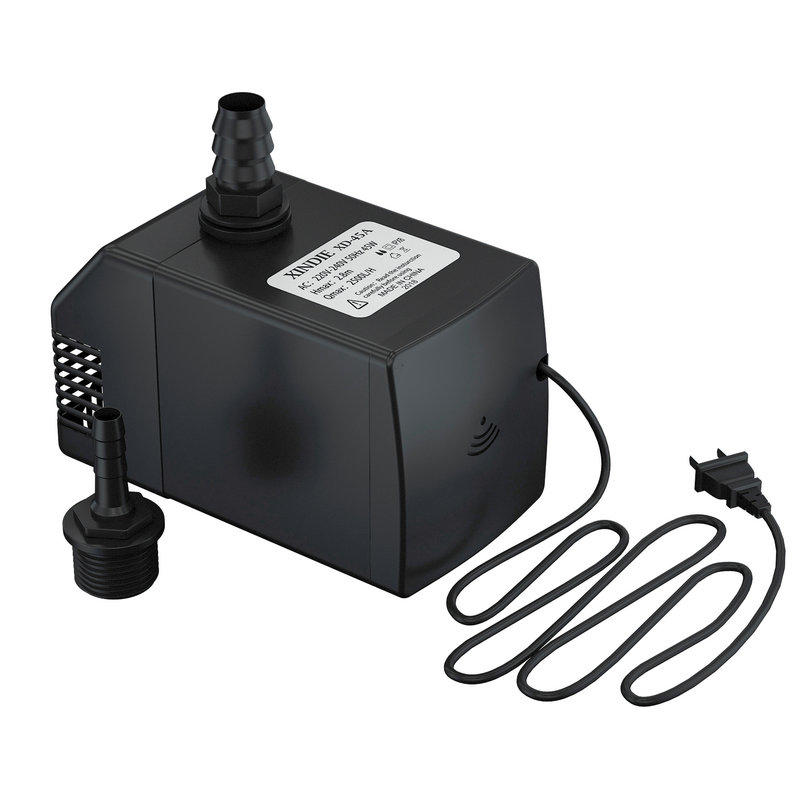 2500 LPH Electric Garden Hydroponics Water Pump